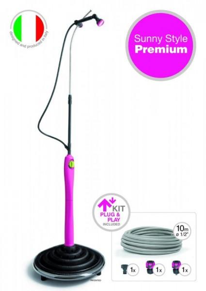 Solární sprcha Sunny Style Premium - Fuxia
