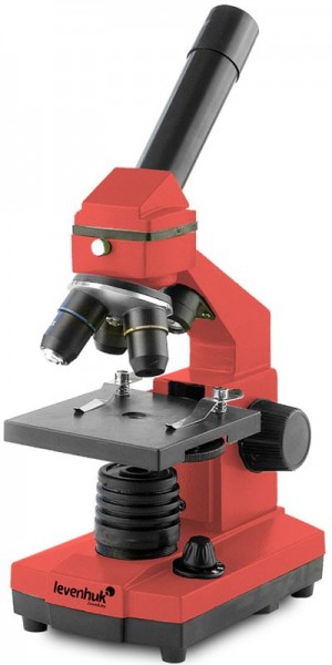 Levenhuk Mikroskop Rainbow 2L PLUS Orange